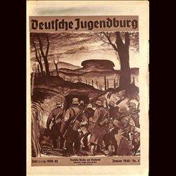 9160 DEUTSCHE JUGENDBURG No.  4-1940 Januar Jahrgang 1939/40