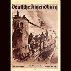 9161 DEUTSCHE JUGENDBURG No.  3-1939 Dezember Jahrgang 1939/40