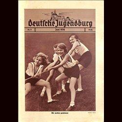 9163 DEUTSCHE JUGENDBURG No.  9-1936 Juni Jahrgang 1935/36