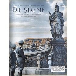 1606 DIE SIRENE No. 2-1939- Reichsluftschutzbund - RLB - Luftschutz magazine civil protection, firefighting, air raids