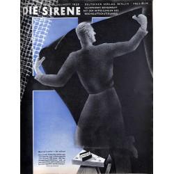 1607 DIE SIRENE No. 2-1939- Reichsluftschutzbund - RLB - Luftschutz magazine civil protection, firefighting, air raids