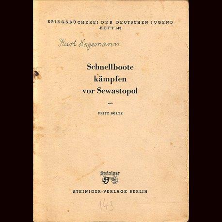 0358 KRIEGSBÜCHEREI DER DEUTSCHEN JUGEND-No.143(1939-1945)Kriegsbücherei der deutschen Jugend WWII narrations