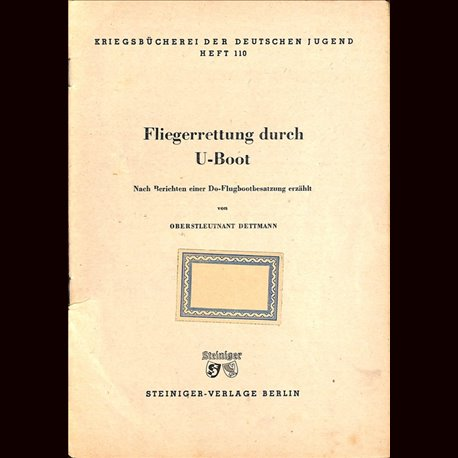 0361 KRIEGSBÜCHEREI DER DEUTSCHEN JUGEND-No.110(1939-1945)Kriegsbücherei der deutschen Jugend WWII narrations