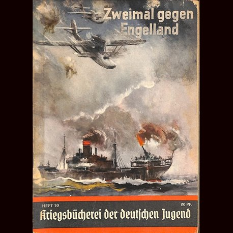 0367 KRIEGSBÜCHEREI DER DEUTSCHEN JUGEND-No.10(1939-1945)Kriegsbücherei der deutschen Jugend WWII narrations