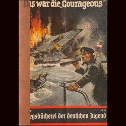 0399 KRIEGSBÜCHEREI DER DEUTSCHEN JUGEND-No.2(1939-1945)Kriegsbücherei der deutschen Jugend WWII narrations