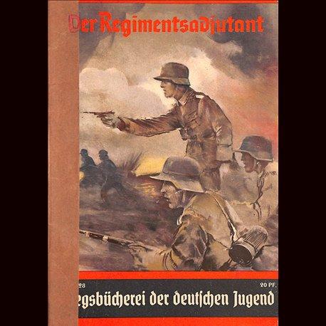 0401 KRIEGSBÜCHEREI DER DEUTSCHEN JUGEND-No.28(1939-1945)Kriegsbücherei der deutschen Jugend WWII narrations