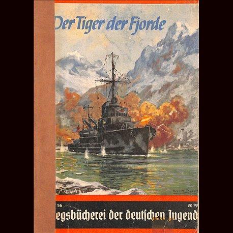 0408 KRIEGSBÜCHEREI DER DEUTSCHEN JUGEND-No.56(1939-1945)Kriegsbücherei der deutschen Jugend WWII narrations