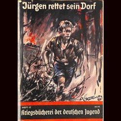 0409 KRIEGSBÜCHEREI DER DEUTSCHEN JUGEND-No.17(1939-1945)Kriegsbücherei der deutschen Jugend WWII narrations