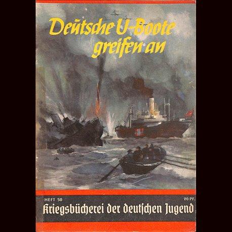 0421 KRIEGSBÜCHEREI DER DEUTSCHEN JUGEND-No.50(1939-1945)Kriegsbücherei der deutschen Jugend WWII narrations