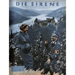1609 DIE SIRENE No. 2-1939- Reichsluftschutzbund - RLB - Luftschutz magazine civil protection, firefighting, air raids