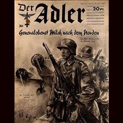 0491 DER ADLER -No.10-1940 vintage German Luftwaffe Magazine Air Force WW2 WWII