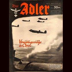 0548 DER ADLER -No.15-1941 vintage German Luftwaffe Magazine Air Force WW2 WWII