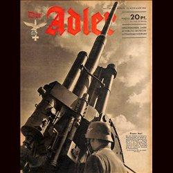 0561 DER ADLER -No.24-1941 vintage German Luftwaffe Magazine Air Force WW2 WWII