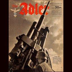 0562 DER ADLER -No.24-1941 vintage German Luftwaffe Magazine Air Force WW2 WWII