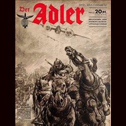 0565 DER ADLER -No.25-1941 vintage German Luftwaffe Magazine Air Force WW2 WWII