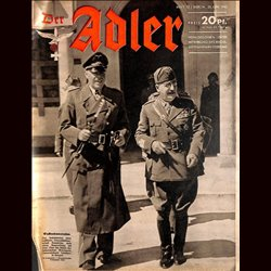 0592	 DER ADLER	 -No.	13	-1942	 vintage German Luftwaffe Magazine Air Force WW2 WWII