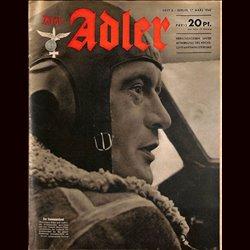 0601 DER ADLER -No.6-1942 vintage German Luftwaffe Magazine Air Force WW2 WWII