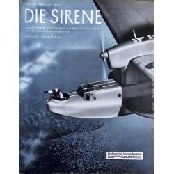1624 DIE SIRENE No. 2-1940- Reichsluftschutzbund - RLB - Luftschutz magazine civil protection, firefighting, air raids