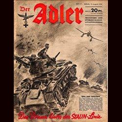 0706 DER ADLER -No.17-1941 vintage German Luftwaffe Magazine Air Force WW2 WWII