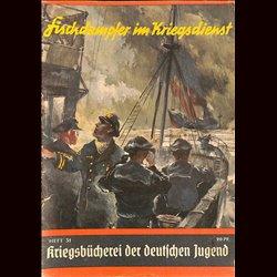 6335 KRIEGSBÜCHEREI DER DEUTSCHEN JUGEND No.31-Fischdampfer im Kriegsdienst WWII narrations/ some illustrations
