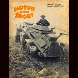 13942 MOTOR UND SPORT No. 1-1940