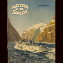 13947 MOTOR UND SPORT No. 20-1940