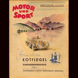 13951 MOTOR UND SPORT No. 36-1940