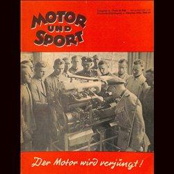 13952 MOTOR UND SPORT No. 40-1940