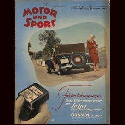 13959 MOTOR UND SPORT No. 12-1941