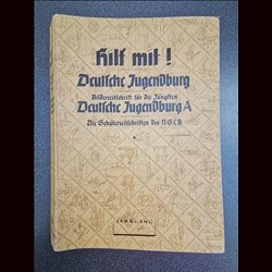 16163 DEUTSCHE JUGENDBURG No. 1-12 1938 /1939