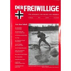 2007180 No. 7-1996 DER FREIWILLIGE - Waffen-SS veteran magazine -