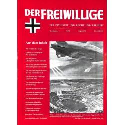 2007181 No. 8-1996 DER FREIWILLIGE - Waffen-SS veteran magazine -