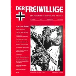 2007182 No. 9-1996 DER FREIWILLIGE - Waffen-SS veteran magazine -