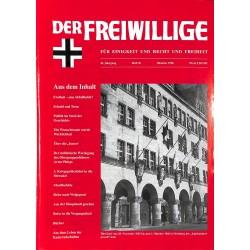 2007183 No. 10-1996 DER FREIWILLIGE - Waffen-SS veteran magazine -