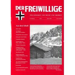 2007186 No. 1-1997 DER FREIWILLIGE - Waffen-SS veteran magazine -