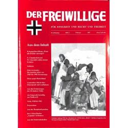 2007187 No. 2-1997 DER FREIWILLIGE - Waffen-SS veteran magazine -