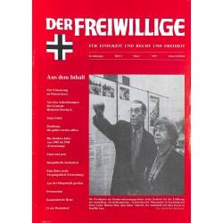 2007188 No. 3-1997 DER FREIWILLIGE - Waffen-SS veteran magazine -