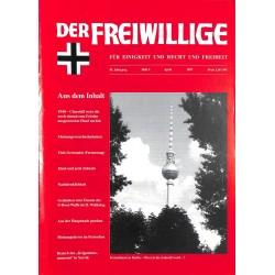 2007189 No. 4-1997 DER FREIWILLIGE - Waffen-SS veteran magazine -