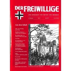 2007191 No. 6-1997 DER FREIWILLIGE - Waffen-SS veteran magazine -
