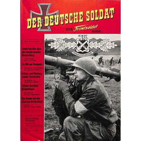 20071911	- No. 	2-1957 Der Deutsche Soldat german WWII magazine illustrated