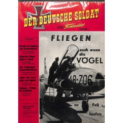 20071915	- No. 	6-1957 Der Deutsche Soldat german WWII magazine illustrated