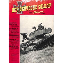 20071918	- No. 	10-1957 Der Deutsche Soldat german WWII magazine illustrated