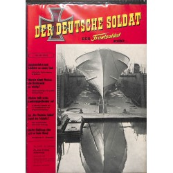 20071922	- No. 	2-1958 Der Deutsche Soldat german WWII magazine illustrated