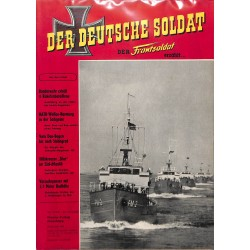 20071924	- No. 	4-1958 Der Deutsche Soldat german WWII magazine illustrated