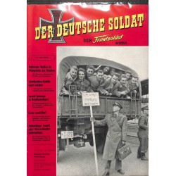 20071926	- No. 	6-1958 Der Deutsche Soldat german WWII magazine illustrated