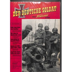 20071959	- No. 	6-1956	 Der Deutsche Soldat german WWII magazine illustrated