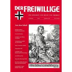 2007193 No. 9-1997 DER FREIWILLIGE - Waffen-SS veteran magazine -