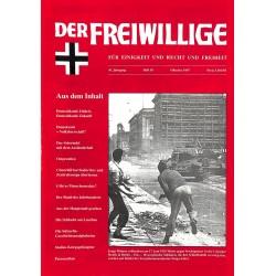 2007194 No. 10-1997 DER FREIWILLIGE - Waffen-SS veteran magazine -