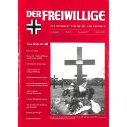 2007195 No. 11-1997 DER FREIWILLIGE - Waffen-SS veteran magazine -