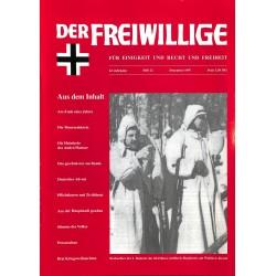 2007196 No. 12-1997 DER FREIWILLIGE - Waffen-SS veteran magazine -